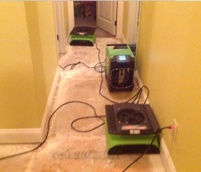 Water Damage to home in Indian Land South Carolina After